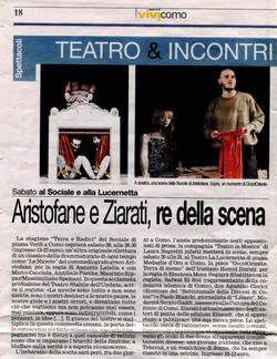 Corriere di Como Marzo 2010