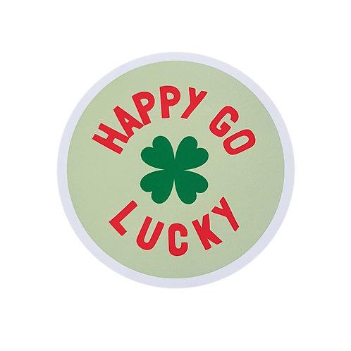 Happy Go Lucky Sticker