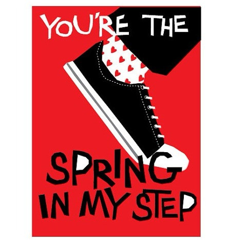 You're the Spring in My Step Card by Lizzy Clara