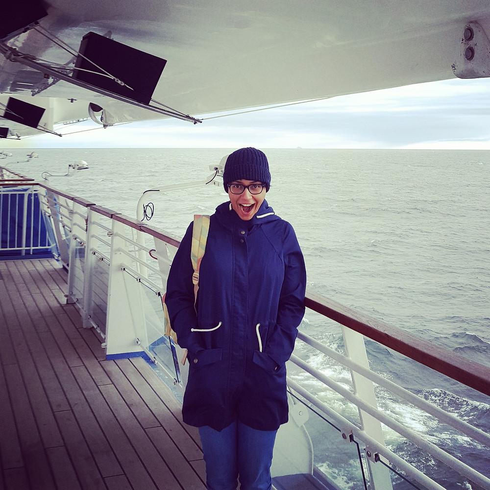 Silja Symphony Ferry, Baltic Sea