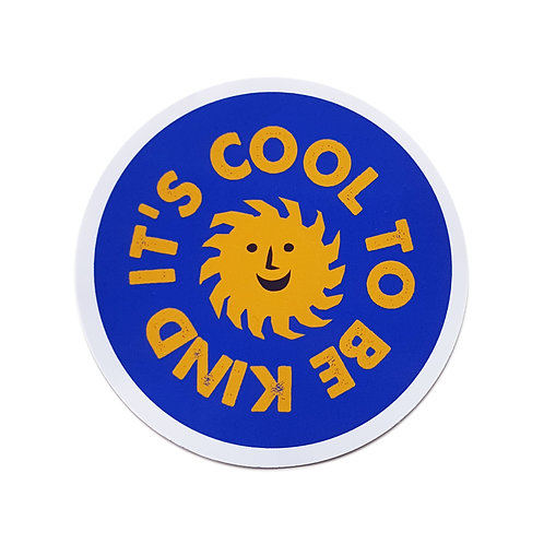 Wholesale | It's Cool to Be Kind Sticker
