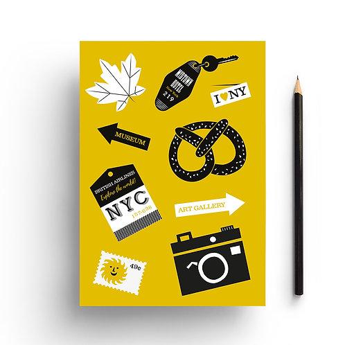 Wholesale | New York Travel Notebook
