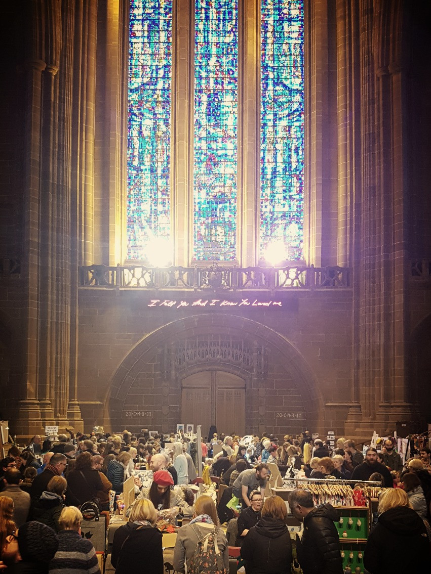 Winter Arts Market 2017, Liverpool Cathedral