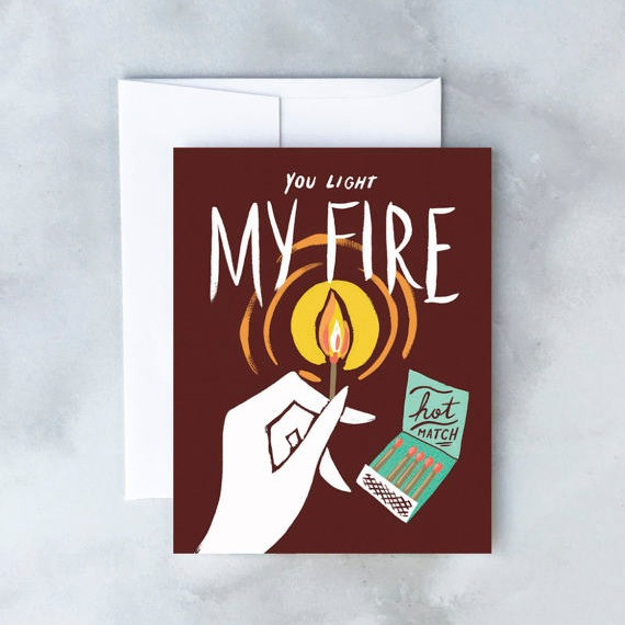 Hot Match Card by Idlewild Co.