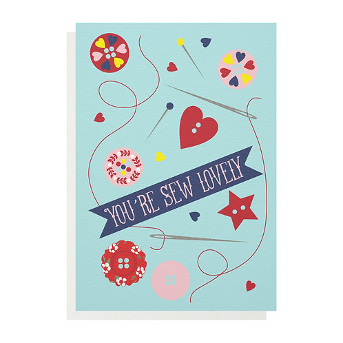 Wholesale | You're Sew Lovely Greetings Card