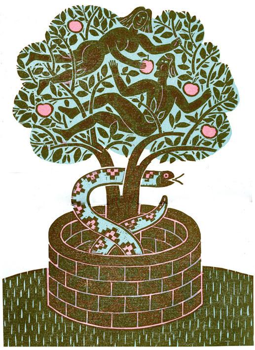 Adam and Eve, Bernard Lodge