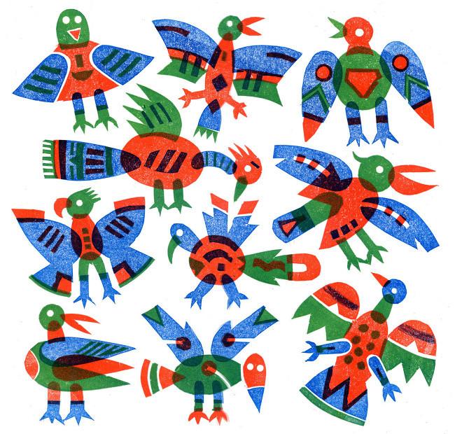 Birds, Bernard Lodge