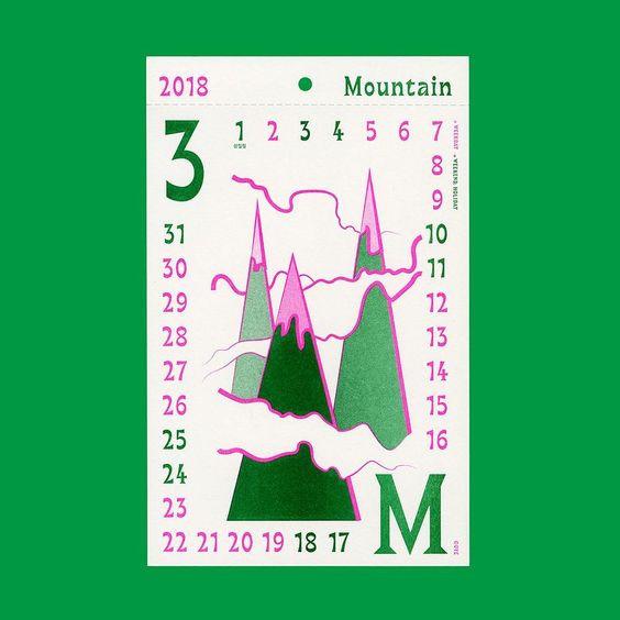 Calendar by Ohezins