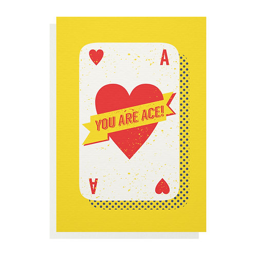 Wholesale | You Are Ace Greetings Card