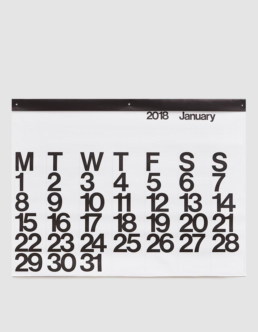 Stendig Calendar via Need Supply Co.
