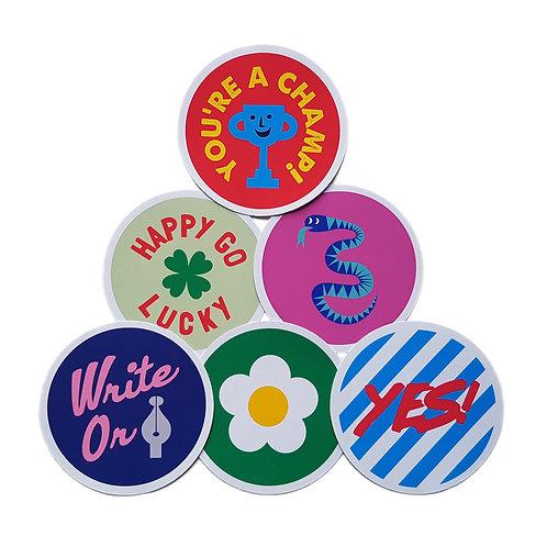 Wholesale | Good Vibes Sticker Set #2
