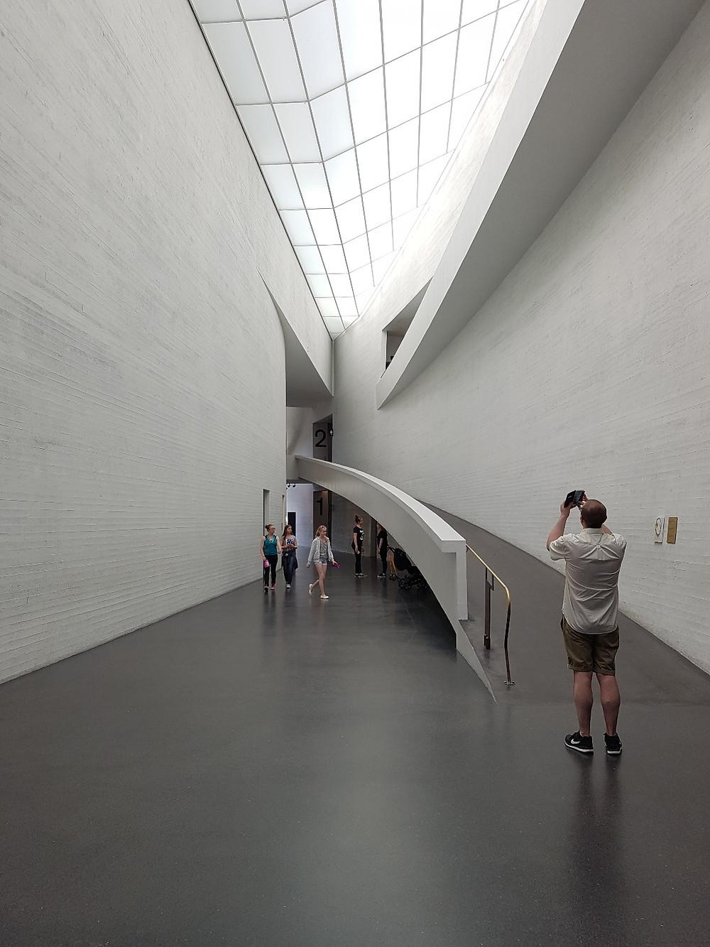 Kiasma Museum of Contemporary Art, Helsinki, Finland