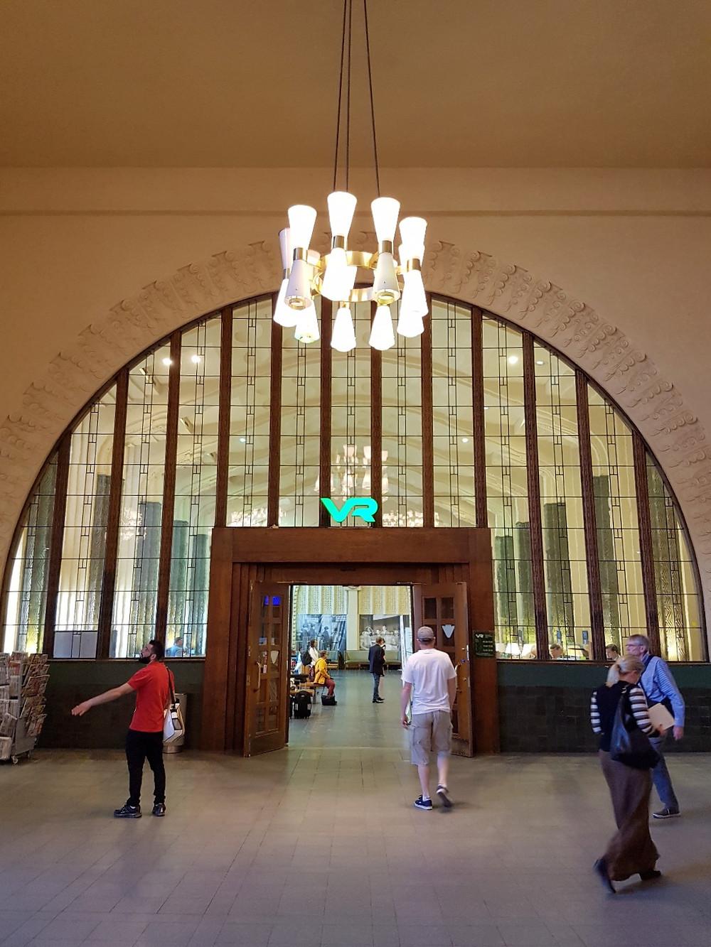 Helsinki Railway Station Interior, Finland