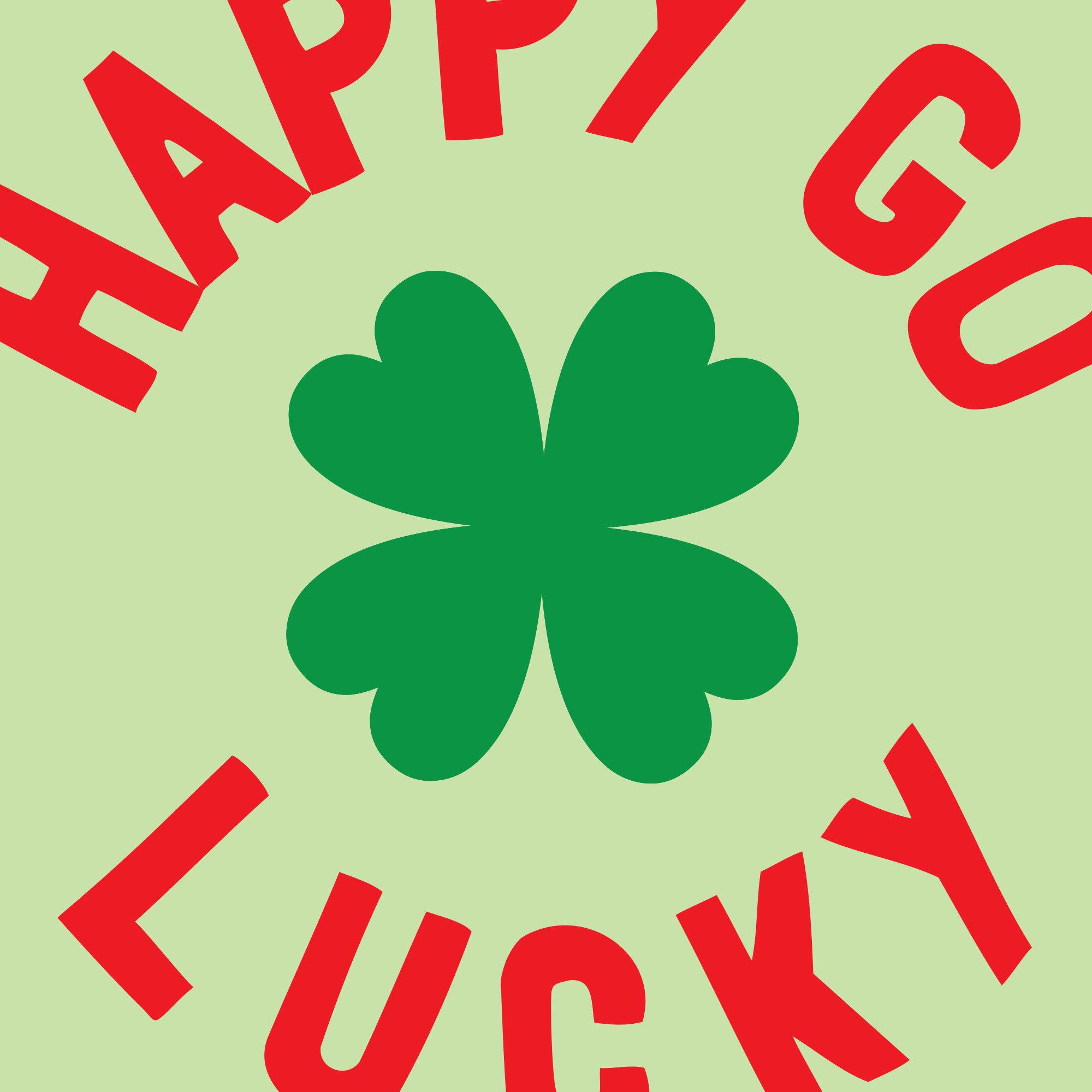 Hello Postcard Happy Go Lucky Series