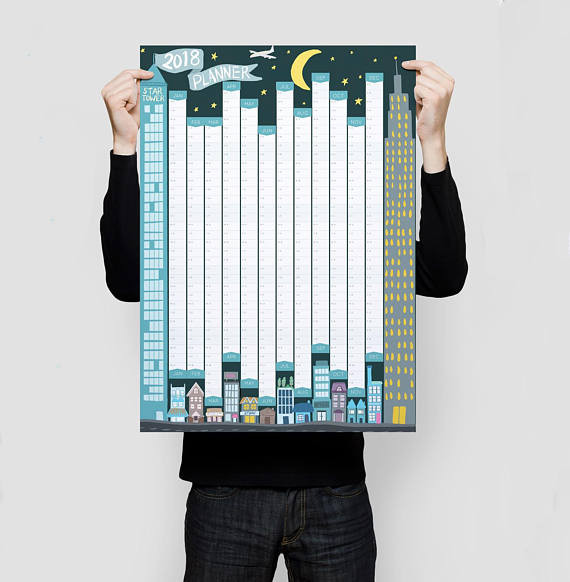 Year Planner by Sam Osborne