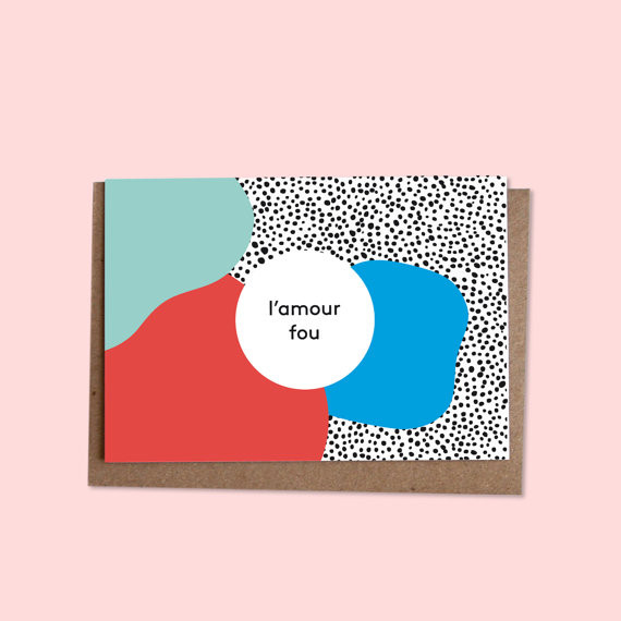L'Amour Fou Card by Oelwein
