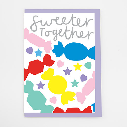 Sweeter Together Card by Alison Hardcastle