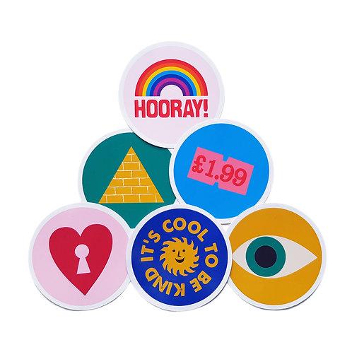 Wholesale | Good Vibes Sticker Set #1