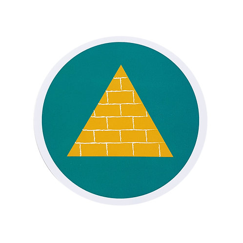 Pyramid Sticker
