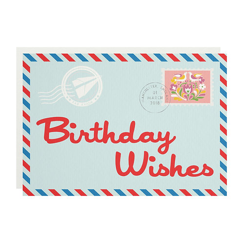 Wholesale | Birthday Airmail Greetings Card