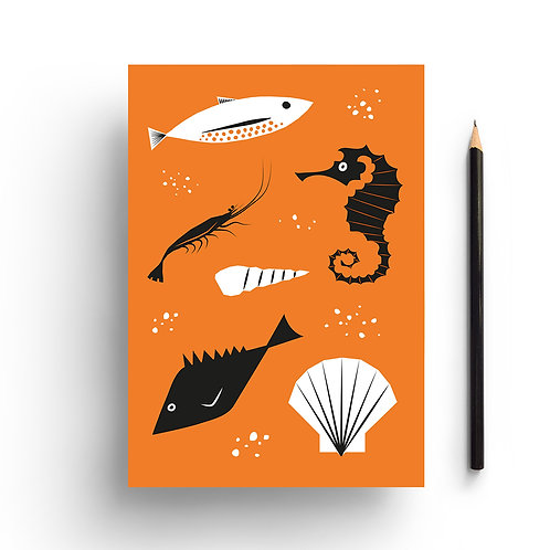 Wholesale | Under the Sea Notebook