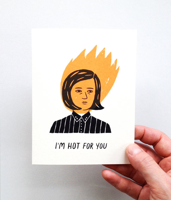 I'm Hot For You Card by Triangles Trees