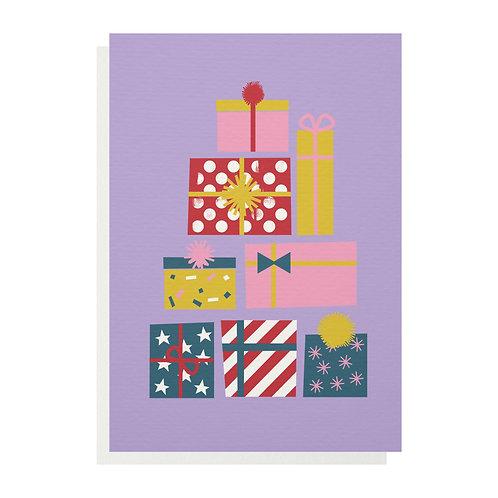 Presents Greetings Card
