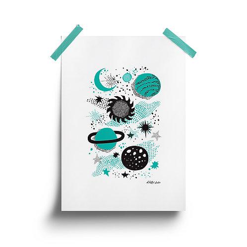 Wholesale | Space Print