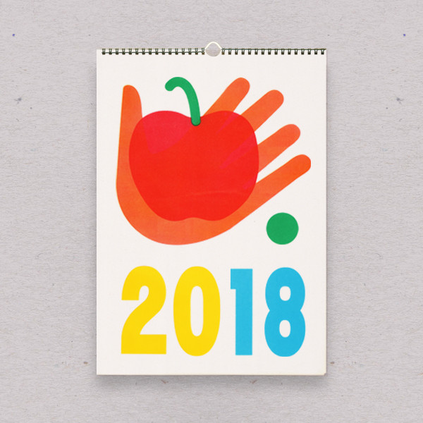 Wall Calendar by Risotto Studio