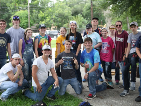 Pray for upcoming summer projects in Orange, Port Arthur, and Houston
