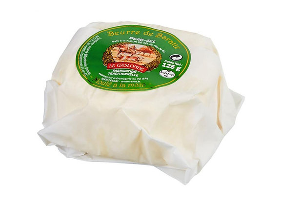 Beurre de baratte 1/2 Sel Le Gaslonde