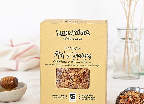 Granola Bio sucré Miel et Graines