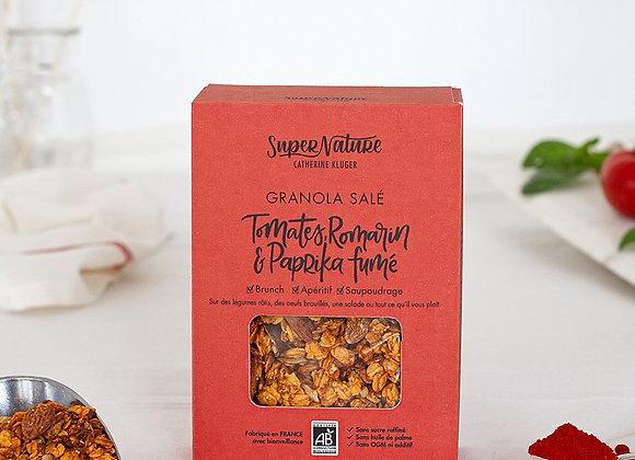 Granola Bio salé Tomates Romarin et Paprika fumé