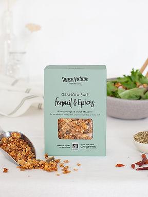 Granola Bio salé Fenouil et Epices