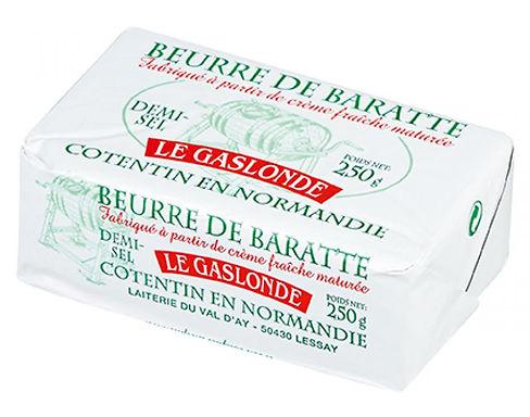Beurre de baratte demi-sel Le Gaslonde