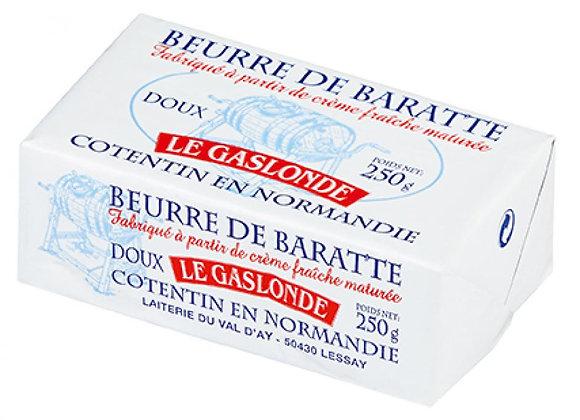 Beurre de baratte doux Le Gaslonde