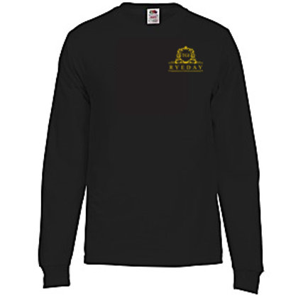 Long Sleeve (printed front and back)