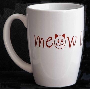 Meow U More 14oz Grande Mug