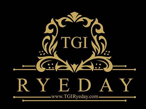 TGI Ryeday Bumper Sticker