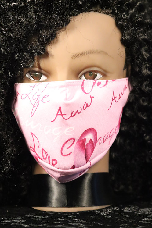 BREAST CANCER AWARENESS MASK