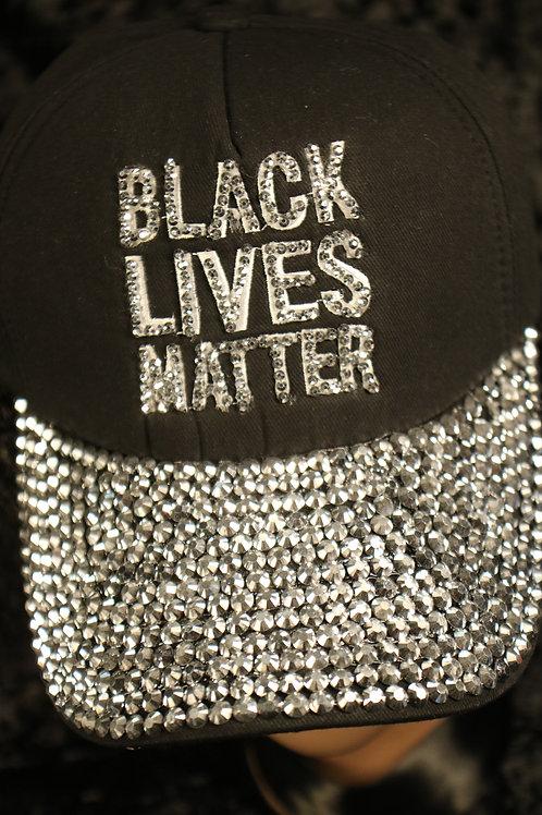 Black Lives Matter Hat - Adjustable Black Cap