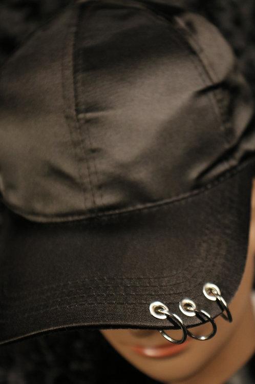 Hat Iron Ring Baseball Adjustable Cap Hip Hop Snapback
