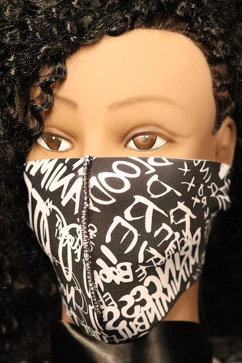 copy of copy of Graffiti Mask Only