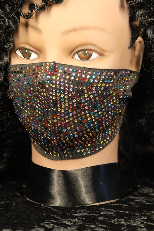 Name	TRENDY MULTI COLOR RHINESTONE FASHION FACE MASK