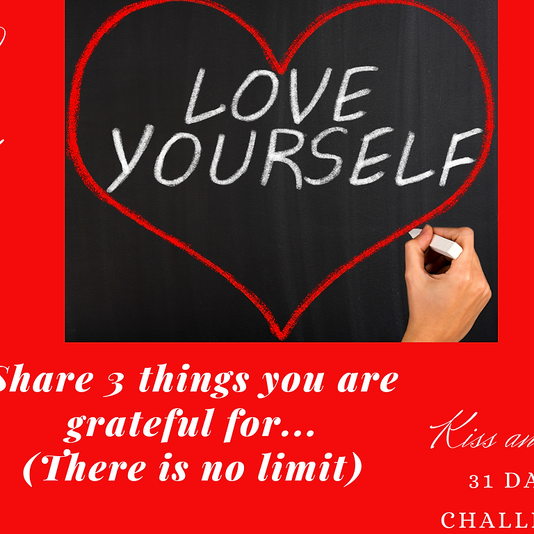 Kiss and Tell 31 Day Self Love Challenge