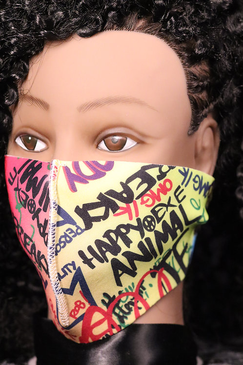 copy of Graffiti Mask Only