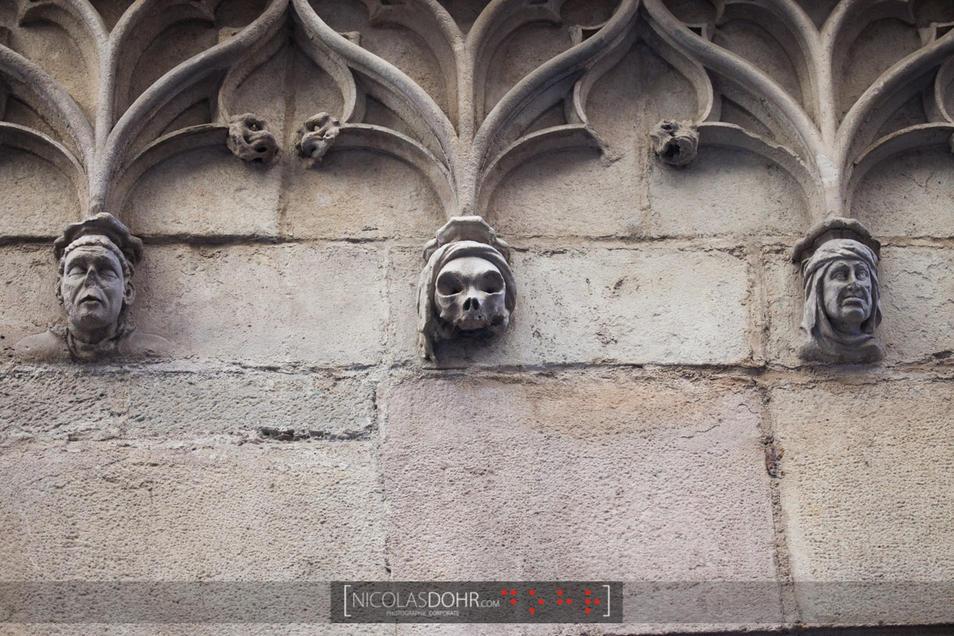 Facade detail, Barcelona