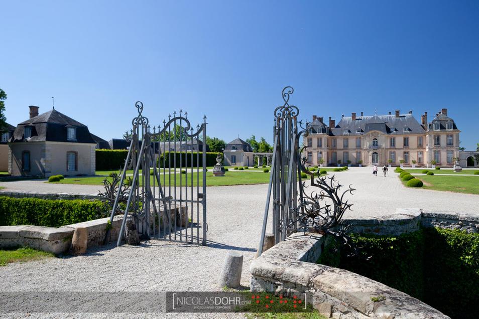 Chateau de la Motte-Tilly in the Aube