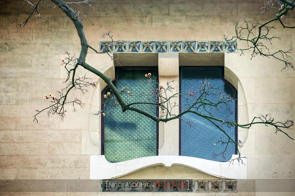 Window of the Villa Majorelle, Nancy