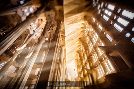 Windows of the Sagrada Familia, Barcelona